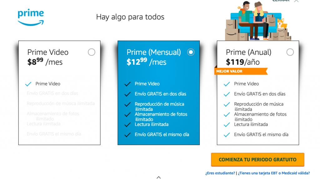 Prime Amazon es una membresia que ofrece amazon para quienes quieran tener un servicio distintivo a la hora de comprar en Amazon y tambien al VENDER EN AMAZON